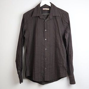 Ted Baker Long Sleeve Textured Button Down Shirt